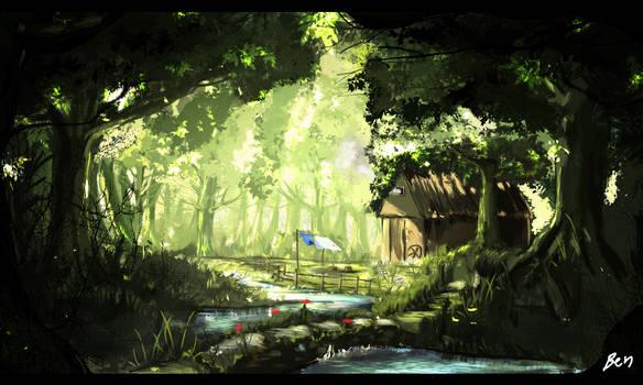 Environmental Study 3 by chamoth143