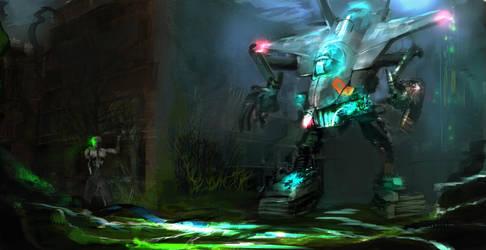 Sci fi by chamoth143