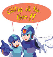 Rockman 30th Anniversary gallery Open Call by Soul-Rokkuman