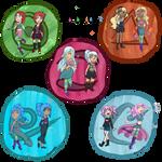W.I.T.C.H. :: Magic OCs by PandoraRose22