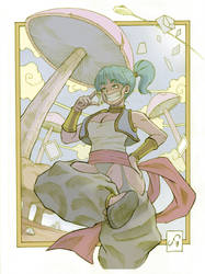 Bulma is card collector! by chr85esp