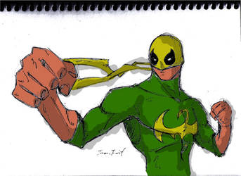 Iron Fist by degreehan