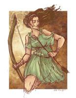 Artemis by paigehwarren