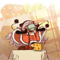 Puella Magi Holy Quintet Tea Party - Nagisa by paigehwarren