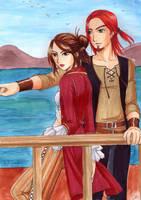 Lorna and Teagan forKatoTereya by Alkanet