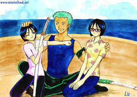 Zoro's girls by Alkanet