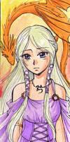 Daenerys bookmark by Alkanet