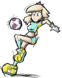 Super Mario Strikers Rosalina by gonenannurs