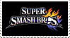Super Smash Bros Stamp by GameAndWill