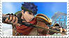 Ike Returns Stamp by GameAndWill
