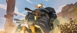 New Overwatch Hero: Wrecking Ball by GameAndWill