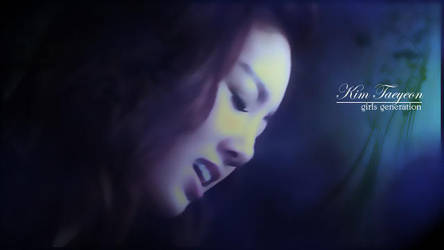 kim taeyeon by rhuday