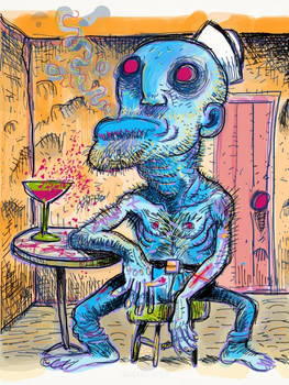 THE DRUNK SAILOR by Christian-Attridge