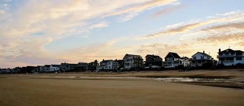 Beach Houses by BlackandWhite1020