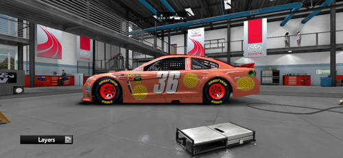 The #36 Pizza Chevy SS by AdmiralofKingsford