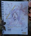 Purple Gold by Yovsarts