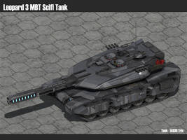 Scifi Leopard 3 MBT by msgamedevelopment