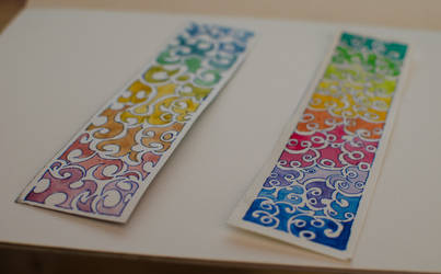 couple bookmarkers by iLuffy