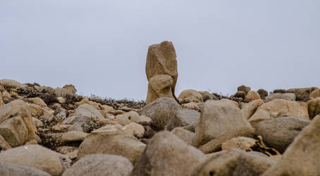 a rock by iLuffy