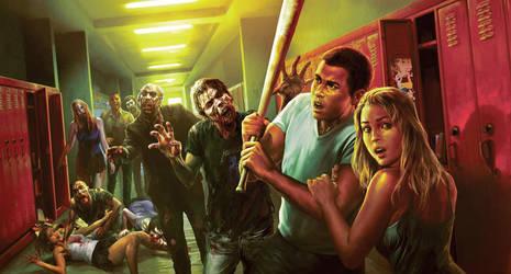 Zombie High by adijin