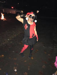 Me in harley quinn costume by LalaNorisu