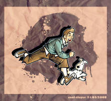 Tintin by cool-slayer