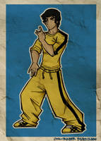 Bruce Lee by cool-slayer