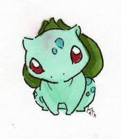 Bulbasaur Chibi by Meiyoukat