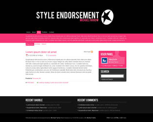 Style Endorsement - Website v6 by weyforth