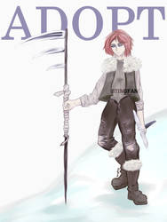 [CLOSED] FREE Adopt Raffle - Snow Hunter by StingFang