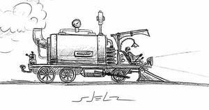 STEAM-TRAIN by VladStelz