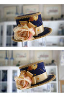 Royalist's Honor Mini Hat by ImperialFiddlesticks