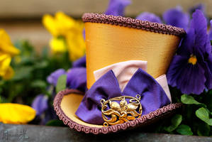 Dibella - The Goddess of Beauty Mini Hat by ImperialFiddlesticks