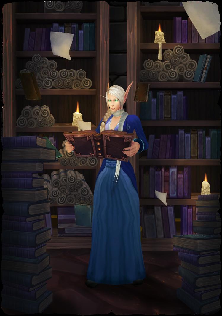 The Bookworm by ImperialFiddlesticks