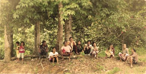 The (aboriginal) Last Supper by Xilantra
