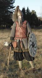 Rus warrior by VendelRus