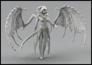 Sorceress Sculpt 2 by Akiratang