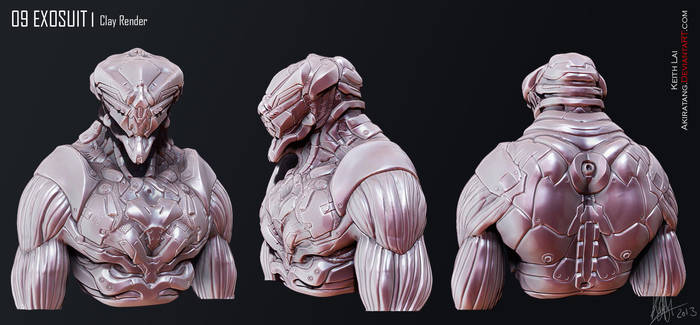 Mech Guy Sculpt by Akiratang