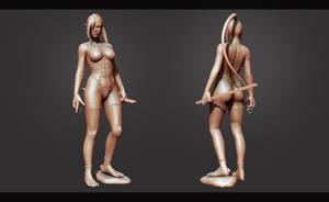 Homura 3D render by Akiratang