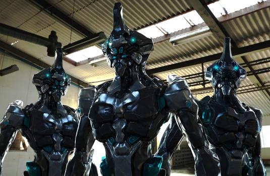 Cyborg Rhino ZB Units 2 by Akiratang