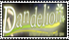 Dandelion: Wishes bought to you STAMP by RainbowThought