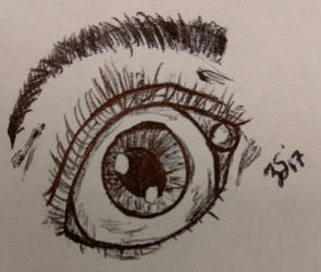 Practicing Eye by PartTimeDoodler