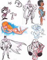 Sketches 2008 by RobBlizzard