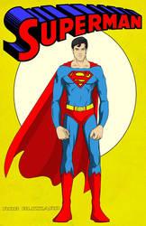 Superman by RobBlizzard