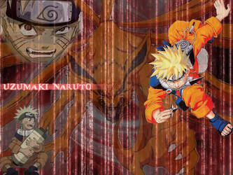 Naruto Nine-Tails by DudE777