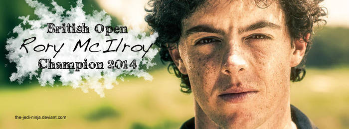 Facebook Timeline Cover: Rory McIlroy by The-Jedi-Ninja