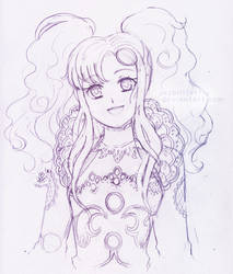 Meredy Doodle by yesbutterfly