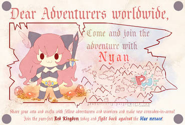 Nyan vs Aoi III - Nyan 3 by yesbutterfly