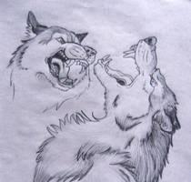 werewolf study by BlueWolf2995