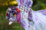 Flower cap oranda by demetyoubi